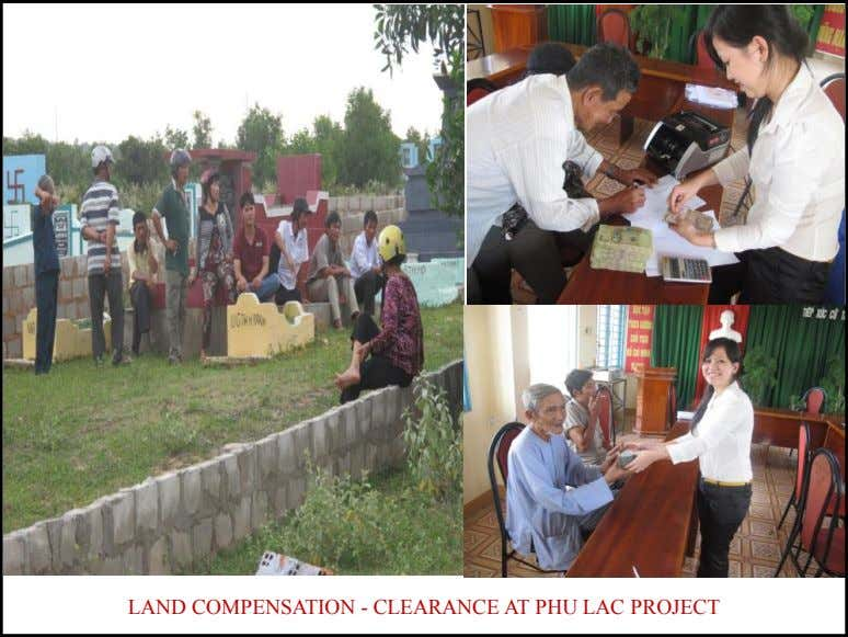 LAND COMPENSATION - CLEARANCE AT PHU LAC PROJECT