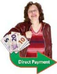Money: Personal budget or direct payment Money you receive is usually called a Direct Payment or
