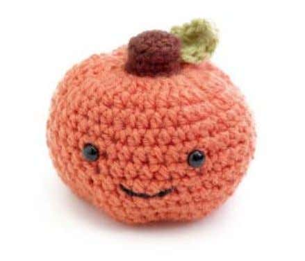 ® Baby Amigurumi Happy Pumpkin Pattern Number: 80742AD Celebrate autumn and Halloween with this adorable pumpkin