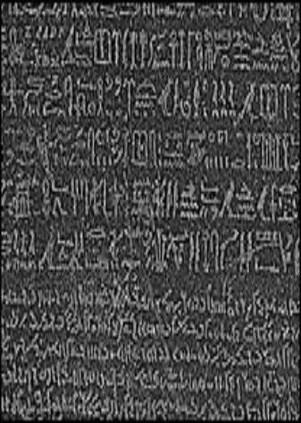 scholar Jean Francois Champollion (1790-1832) in 1822 to basically decipher the hieroglyphs A. Dogac Ceng 520