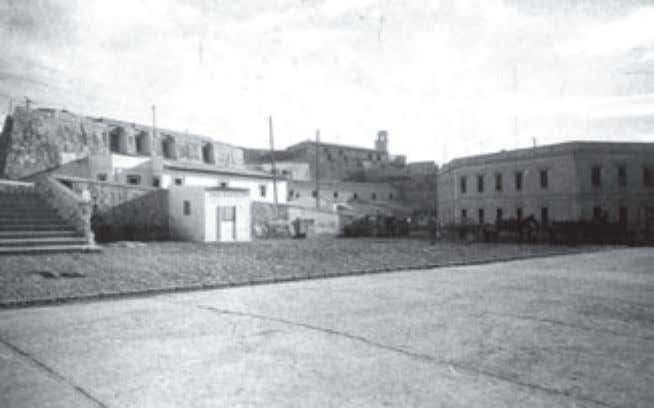 1922. Cartoteca del Archivo Central de Melilla. Melilla, Fig 8: Vista general de la Plaza de