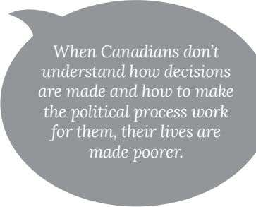 When Canadians don't for them, their lives are made poorer.