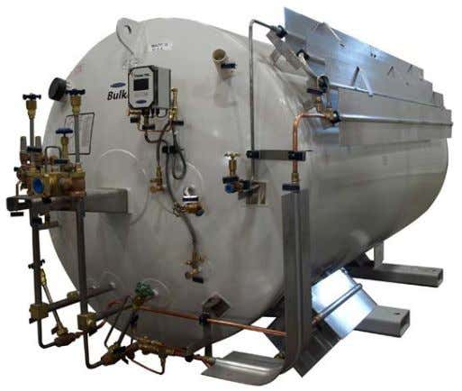 "transport or an Orca ™ MicroBulk Delivery System. Product Advantages Compact, horizontal low profile: 69""H"