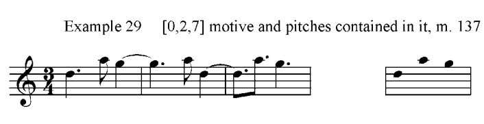 In measure 462, the shout chorus returns to the melodic statement of measure 121, now