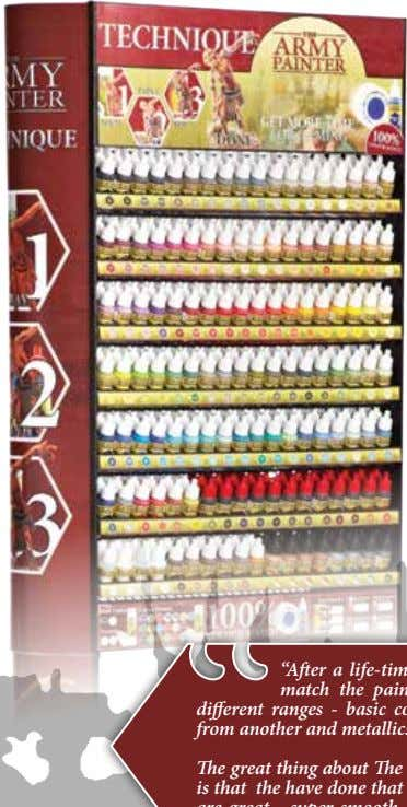 range of Warpaints ready for release in February 2017. The Complete Wargaming Warpaints range: The final