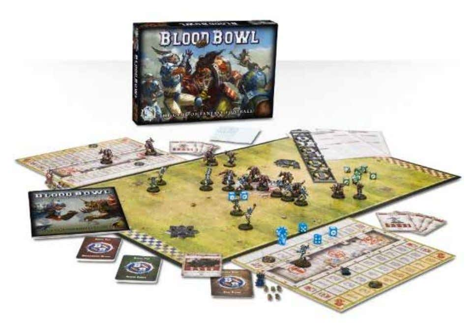 BLOOD BOWL REVIEW BY MATT TAYLOR Blood Bowl is back! I'm just going to say