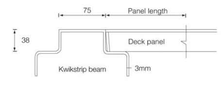 15.1 37 1 000 8.9 26 900 7.9 29 DECK PANEL Slab system The deck panel