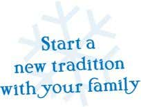 Start a new tradition with your family