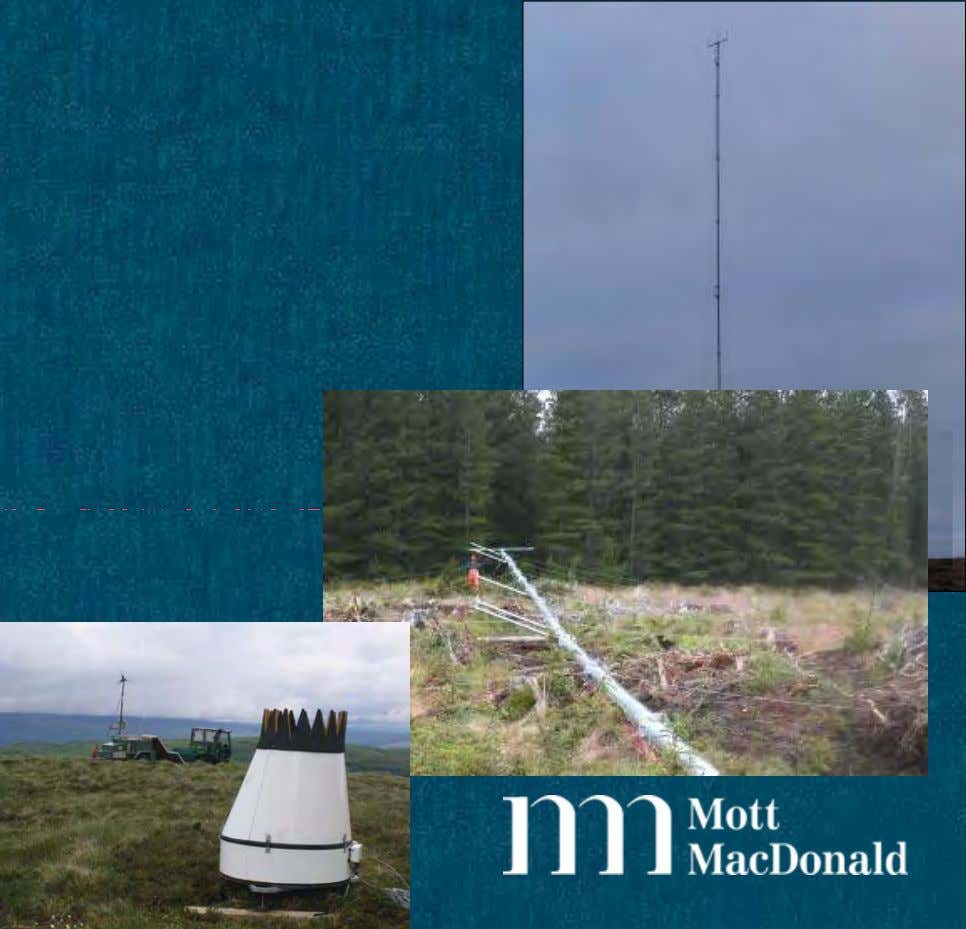 Wind Regime Assessment • Undertake wind regime assessment campaign using: – Wind Monitoring Masts – SODAR