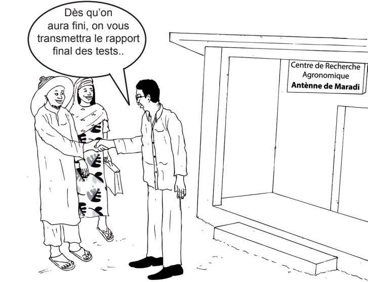 Dès qu'on aura fini, on vous transmettra le rapport final des tests