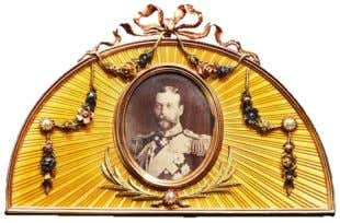 and her grandmother H.M. Queen Alexandra (1844-1925). The sale includes two superb jewelled picture frames, each