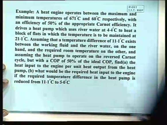 Basic Thermodynamics Prof. S. K. Som Department of Mechanical Engineering Indian Institute of Technology, Kharagpur Lecture
