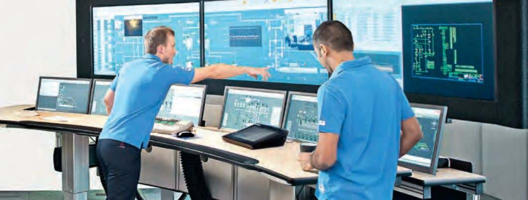 Generating cost effective solutions through System 800xA provides a visual environment for easy design and deployment