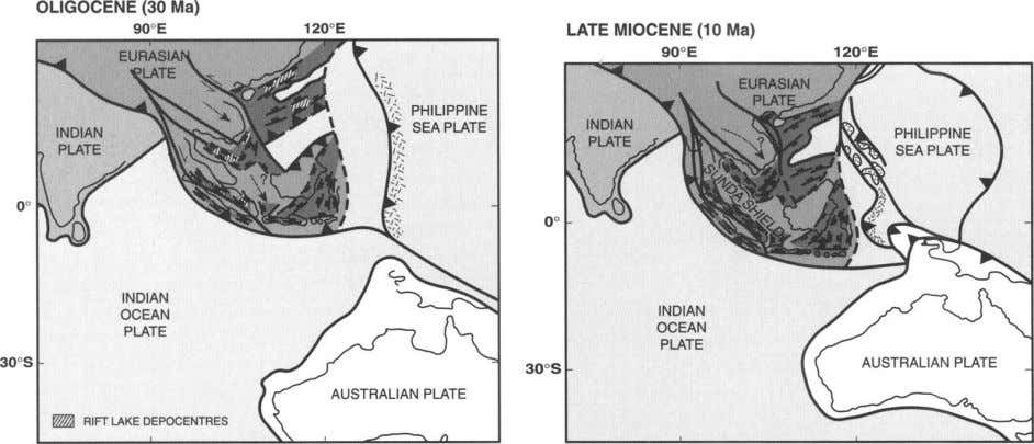systems, which in turn tends to be sequestered into the Fig. 2. Regional tectonic context (modified