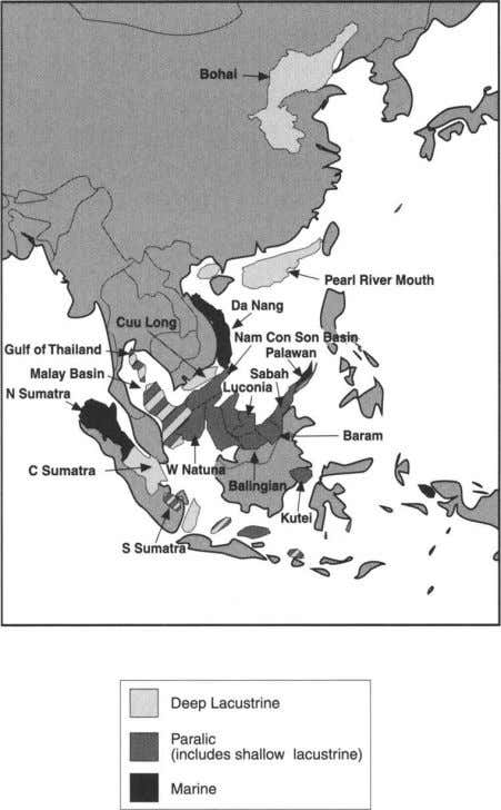 CHARACTERIZING TERTIARY CHARGE SYSTEMS 29 Fig. 4. Principal source types in main SE Asian petroleum provinces.