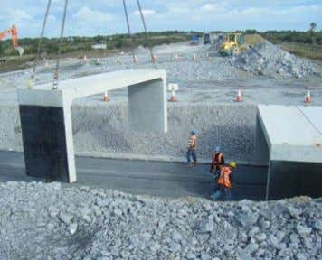 pg 19 Double Cell Culvert Typical Applications: Large cumulative spans. Advantages: Optimal structural efficiency.