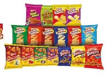 Branded Packaged Foods Portfolio Biscuits, Staples, Snacks, Noodles & Pasta, Confectionery, Ready to Eat, Juices and