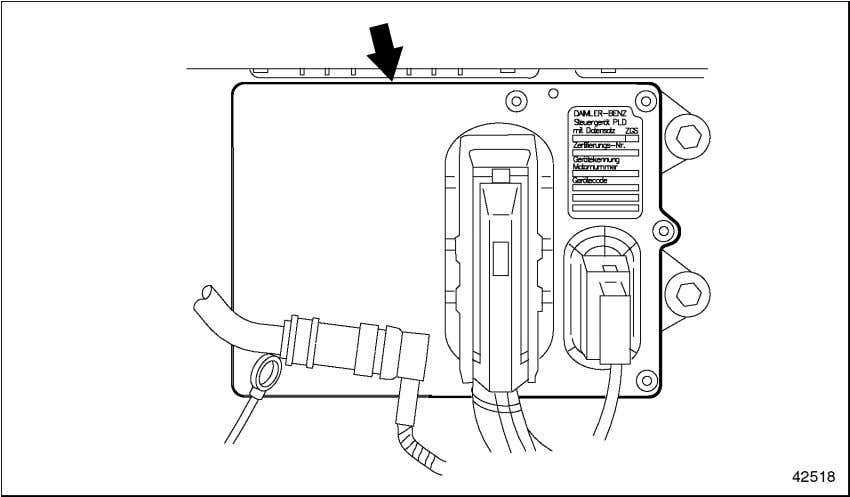 Figure 3-1 ) is located on the left-hand side of the engine. Figure 3-1 PLD-MR Control