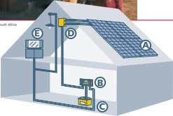 Solar home systems with Steca solar charge controllers. A solar home system consists of a Steca