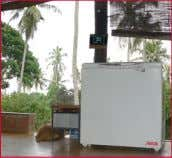 directly to the load output of the solar charge con- Sri Lanka troller. This means the