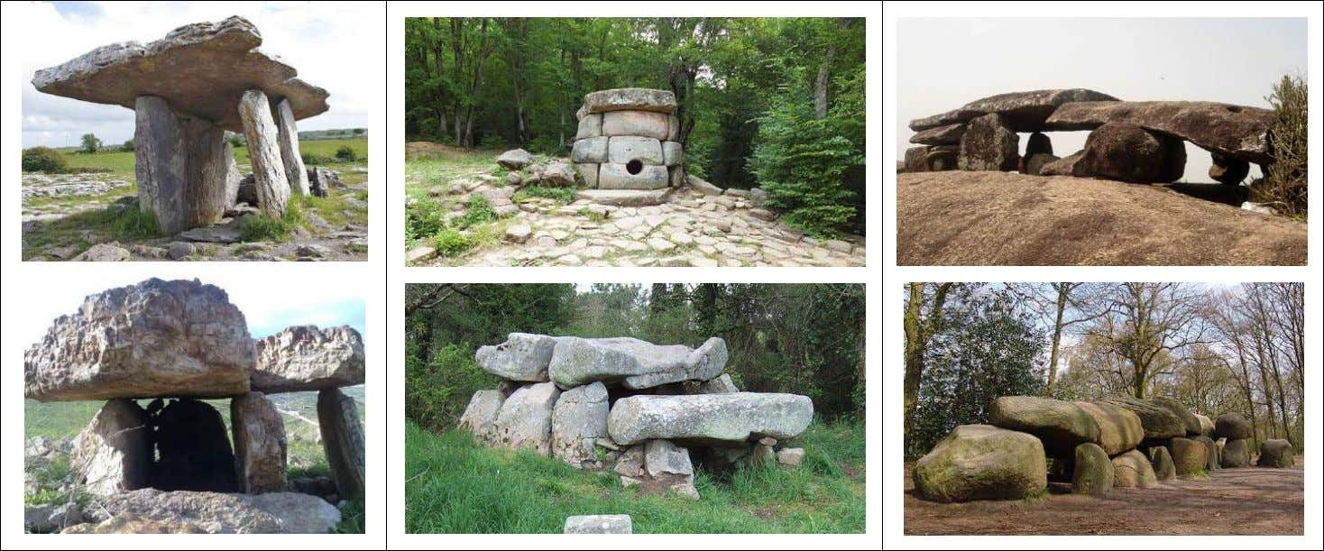 India; The T-shaped Hunebed D27, Borger-Odoorn, Netherlands Sources :https://en.wikipedia.org/wiki/Poulnabrone_dolmen ;