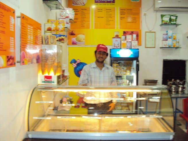 Amul scooping parlour draws good response from the customers. In guwahati, amul scooping parlours is earning