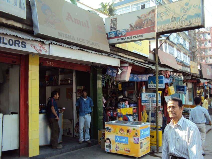 Retail-shops: These are shops who sale other products of different commodities along with sales amul products