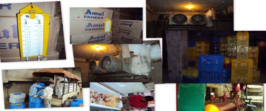 The transportation of product also done in cold storage. PIC: AMUL ICE-CREAM STRE-HOUSE AND MAINTAINANCE ETC.