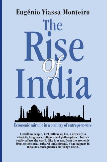 The Rise of India Eugenio Viassa Monteiro