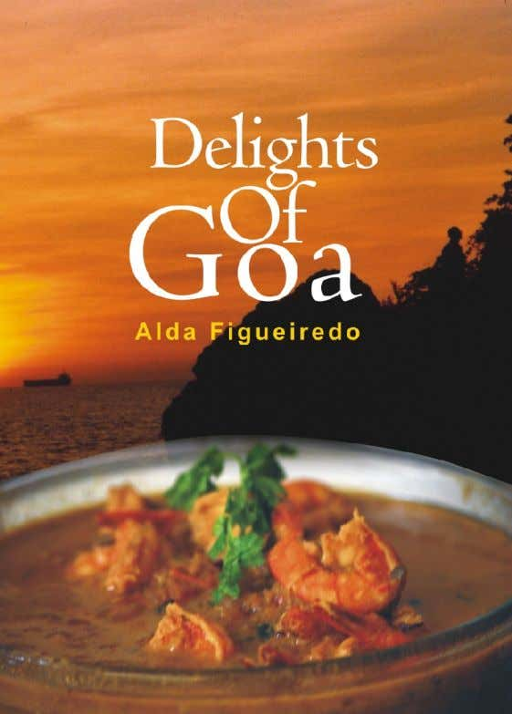 Delights of Goa Alda Figueiredo
