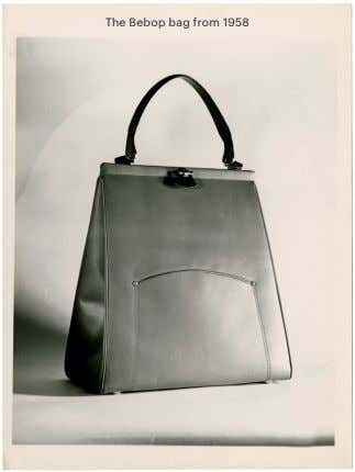 The Bebop bag from 1958