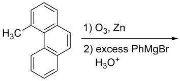 possible stereoisomers obtained in the following reaction is The major product formed in the following reaction