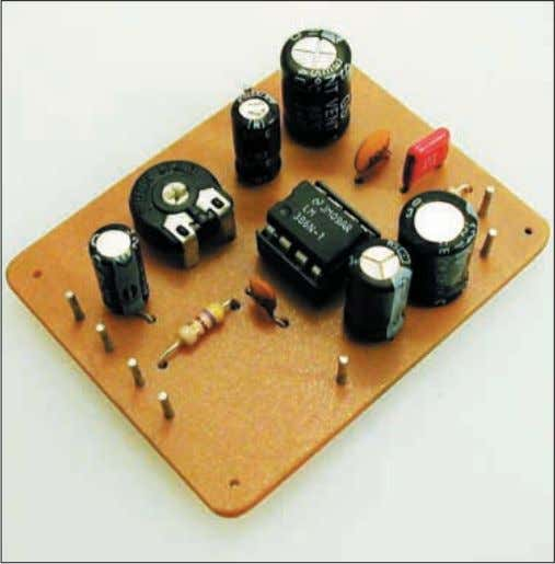 In use, there is little to distinguish between the four, low powered amplifiers, all perform well.