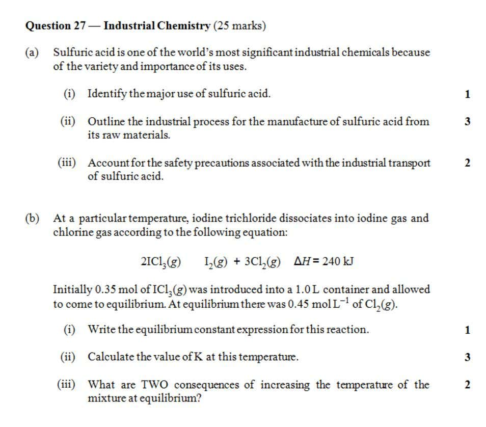 HSC central resources 2009 Chemistry Industrial chemistry 14 | Page