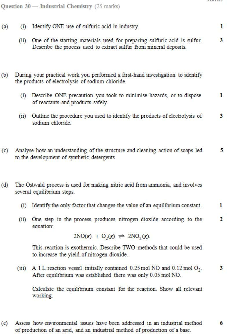 HSC central resources 2003 Chemistry Industrial chemistry 3 | Page