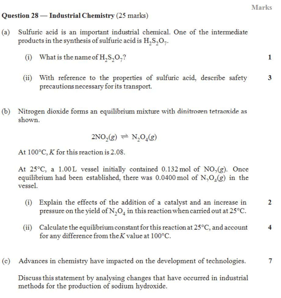 HSC central resources 2005 Chemistry Industrial chemistry 6 | Page