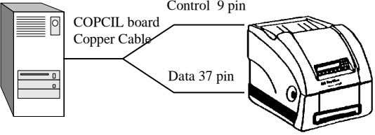 Control 9 pin COPCIL board Copper Cable Data 37 pin