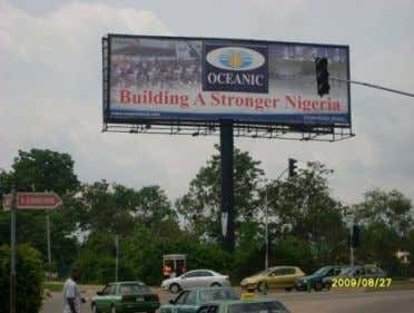 Outdoor Advertising Association of Nigeria Rate Card 2008 Fig. 2.4: A typical Unipole Billboard with a
