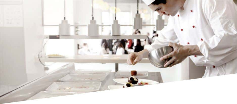 experiences with the culinary area of the hospitality world. The Culinary Arts Academy provides a truly