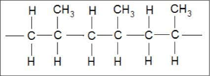 22. Diagram 7 shows molecular structure of a polymer. Diagram 7 What is the name of
