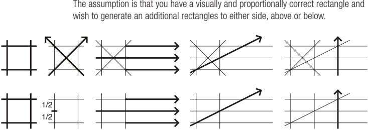 The assumption is that you have a visually and proportionally correct rectangle and wish to