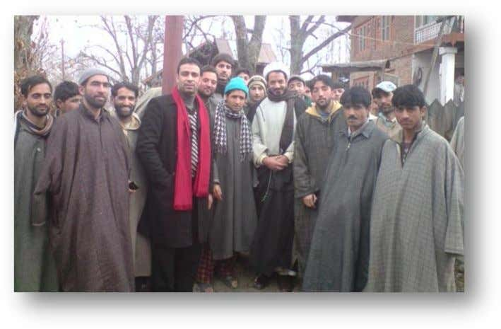 at CHATTERGUL & HALLKHAS VILLAGES 14, 15 December 2011 A joint venture of Ahlulbayat Foundation, Kashmir