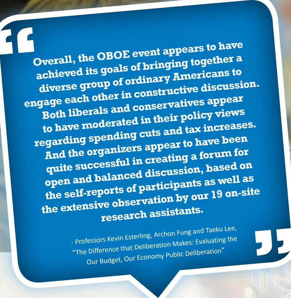 event appears Overall, the OBOE to have its goals of bringing achieved together a ordinary