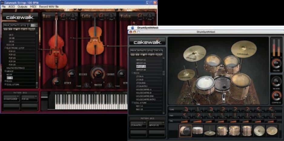 Stand-alone Mode / Standalone-Modus / Mode autonome Studio Instruments can be used as stand-alone instruments that