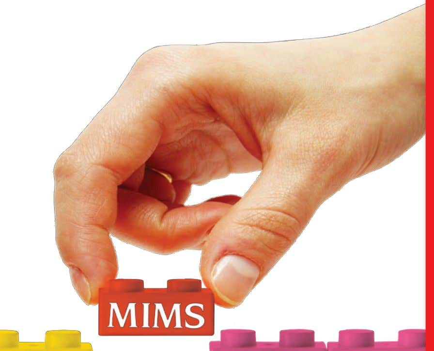 The Complete Solution Innovations in workflow tools for smarter prescribing. www.mims.com Log on today! CLINICAL PAPERS