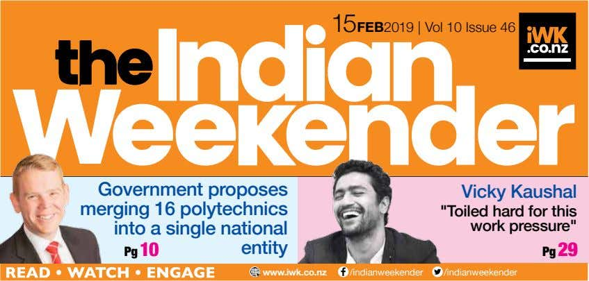 15 FEB 2019 | Vol 10 Issue 46 Government proposes merging 16 polytechnics into a
