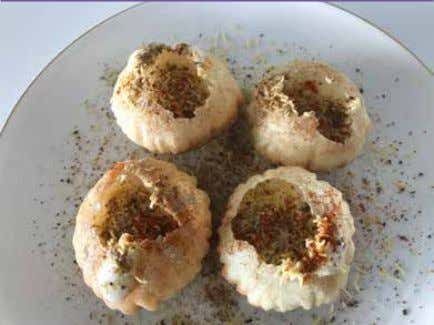 Friday, February 15, 2019 FEATURES 25 DAHI PURI P ani puri also known as golgappa's filled