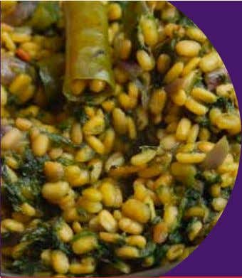 Moong Dal Stir Fry M oong Dal Stir Fry is a delicious North Indian recipe.