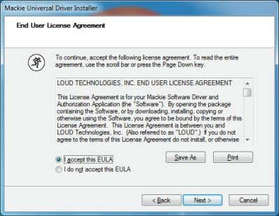 "accept this EULA"" and click ""Next"" to continue. 4. Check the box that reads ""Always trust"