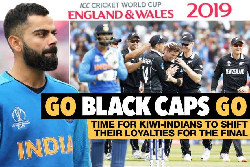 TIME FOR KIWI-INDIANS TO SHIFT THEIR LOYALTIES FOR THE FINAL